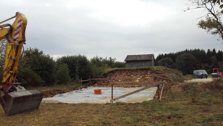 Neubau Hochbehälter in Irndorf