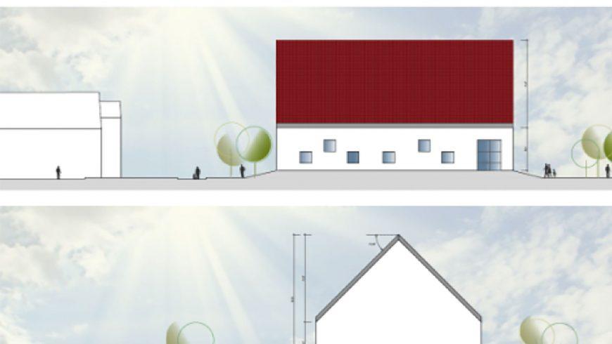 Planungsstand Neubau Wasserwerk Langenbrunn