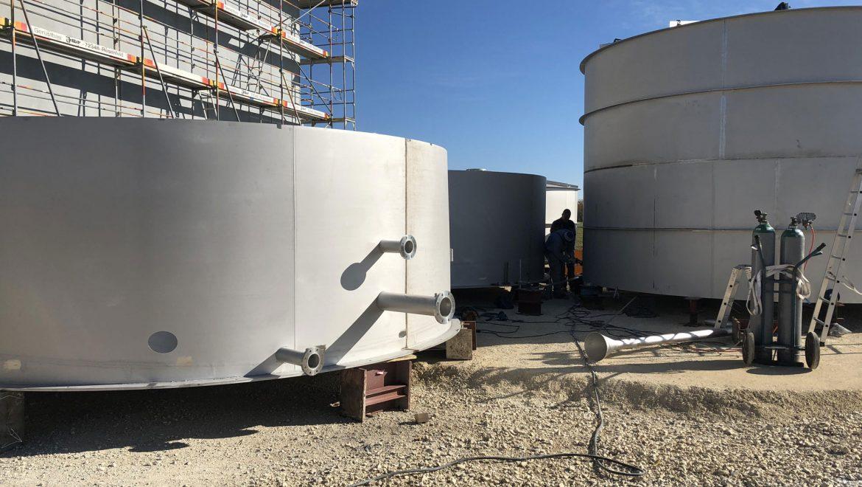Neubau Hochbehälter Heinstetten