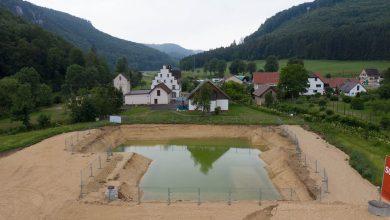 Planungen zum Neubau des Wasserwerk Langenbrunn